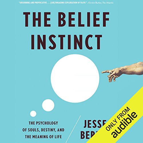 The Belief Instinct audiobook cover art