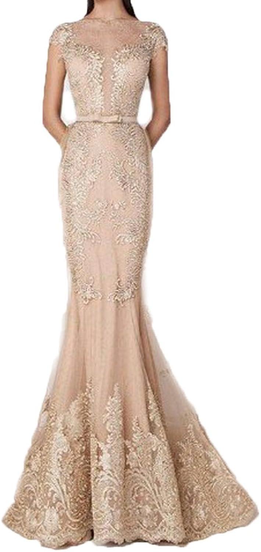 Ellenhouse Long Detachable Skirt Beaded Applique Formal Prom Wedding Dress EL102