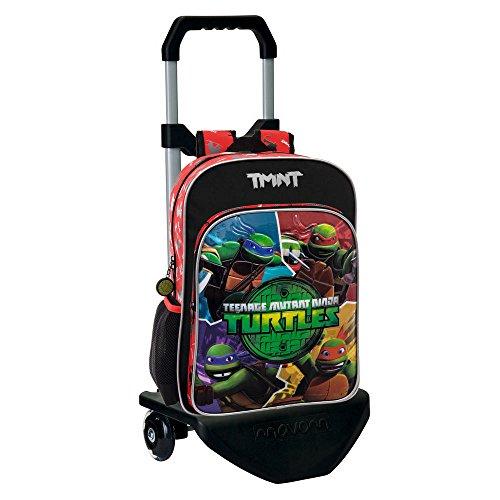 Tortugas Ninja 22923M1 Mochila Escolar  Color Verde  19.2 litros