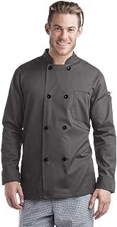 Men's Long Sleeve Chef Coat (XS-5X, 2 Colors)