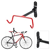 ADEPTNA Heavy Duty Wall Mounted Bike Bicycle Cycle Storage Rack Hook Holder Fitting