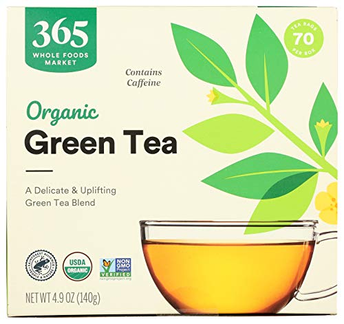 365 by WFM, Tea Green Organic, 70 Count