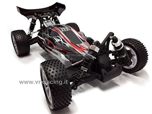 VRX Spirit EBD Buggy Elettrico RC-550 Turbo Speed Radio 2.4ghz 1:10 RTR 4WD