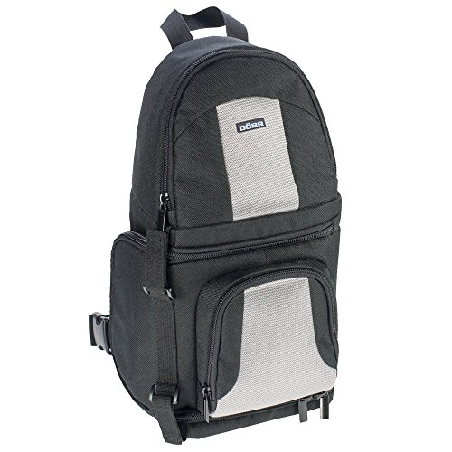 Dörr 455886 - Bolsa Tipo Mochila para cámara réflex con O
