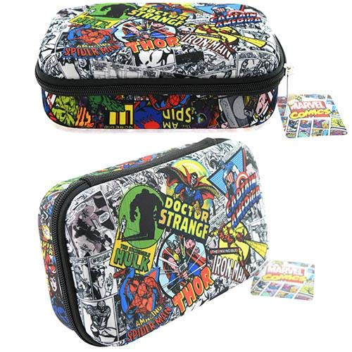 Marvel Avengers Spiderman Thor Hulk Comics Molded Pencil Case