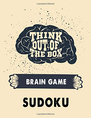 Think out of the box-Brain game Sudoku: Sudoku puzzle books Brain games Sudoku puzzle book for adults