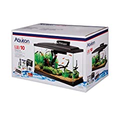 Low profile full hood contains vibrant cool white LED lighting to bring your aquatic environment to life QuietFlow 10 LED PRO power filter has a red LED light that flashes to indicate when it's time to change the cartridge – no more guessing! Preset ...