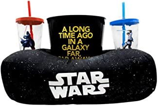 Almofada Pipoca Fibra Star Wars Galaxia