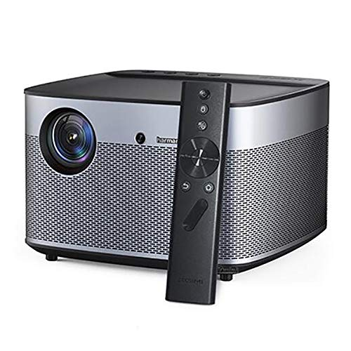 Intelligente projector, 1350 ANSI lumen 3D-projector, 1920 x 1080P, Full HD, ondersteuning voor 4K Android, wifi, bluetooth beamer