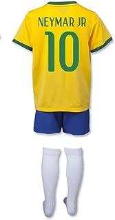 Brazil World Cup 2014 Home Mini Kit (Neymar JR 10) size YM Little Boys