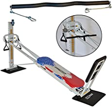 GR8FLEX EZ Curl Bar - Heavy Weight Training Accessory Designed To Fit on Total Trainer, Bowflex, and Home Fitness Gym Equipments with Cable Systems