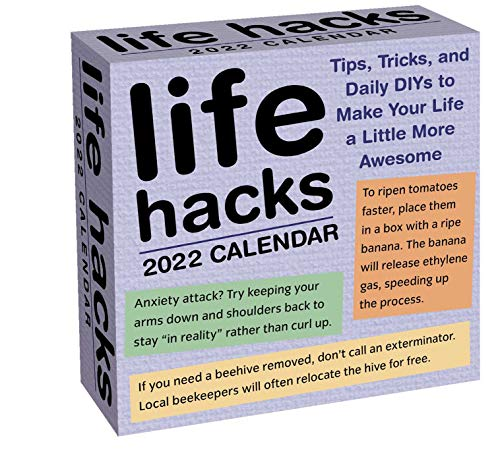 Life Hacks 2022 Day-to-Day Calendar: Tips, Tricks, and Daily DIYs to Make Your Life a Little More Aw