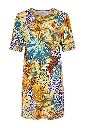 Navigazione Più Damen Tropisches Kleid mit Galonstreifen