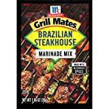 McCormick Grill Mates Brazilian Steakhouse Marinade, 1.06 Ounce, pack of 12