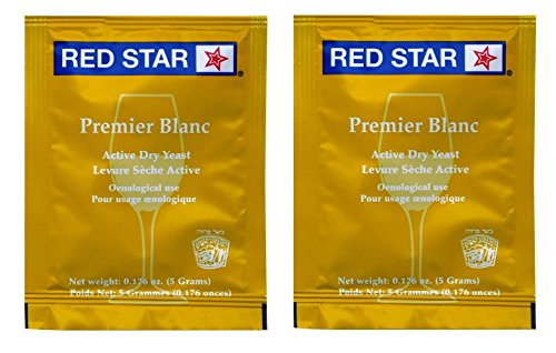 Red Star Premier Blanc Champagne Yeast - 2 Pack