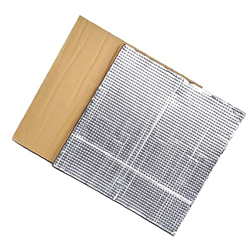 Hot Piattaforma Letto Isolamento Focolaio stampante termica Pad schiuma isolante Mat 3D riscaldata lettino termale isolamento in cotone Argento elettronico, Attrezzatura industriale 2PCS