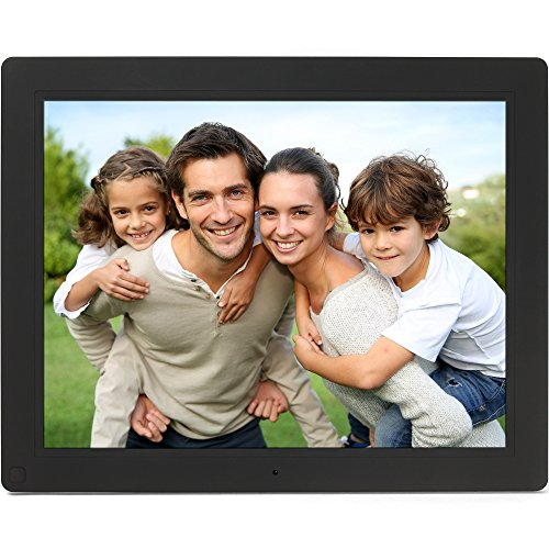 Micca NEO 15-Inch Digital Photo Frame with 8GB Storage, Motion Sensor, High Resolution LCD, MP3 Music and 720P HD Video Playback, Auto On/Off Timer...
