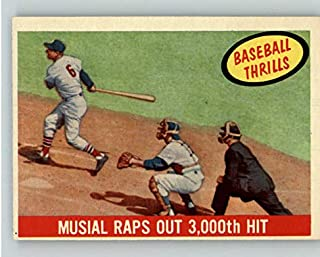 1959 Topps #470 Stan Musial IA Cardinals EX-MT 372136 Kit Young Cards
