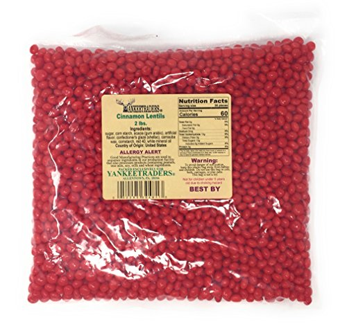 Yankee Traders Candy, Cinnamon Lentil, 2 Pound