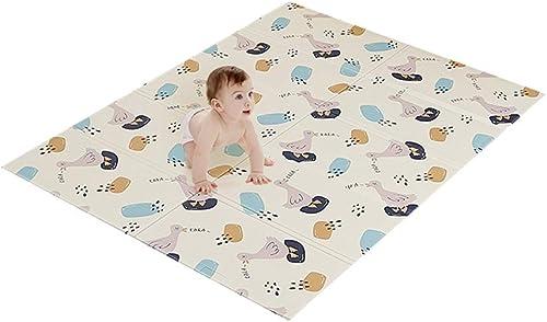 Babyspielmatte, Ungiftige Faltende Bodenmatte Kinderspielmatte, Umschaltbare Wasserdichte Baby-Schaum-kriechende Matte (Größe   XL)