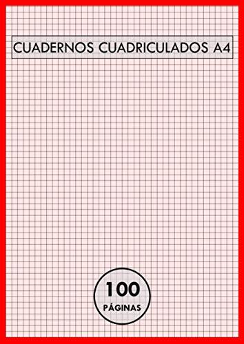 Cuadernos A4 Cuadriculados: Hojas cuadrícula 5x5 | 100 Páginas