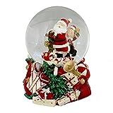 Widdop Musicaux Noël Père Noël Globe de Neige...
