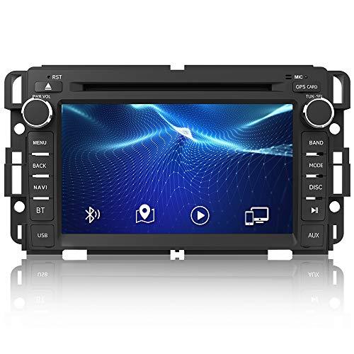 AWESAFE Car Radio Stereo for Chevy Silverado Tahoe Traverse GMC Sierra Yukon with Bluetooth GPS Navigation