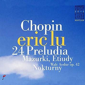 Chopin: 24 Preludia, Mazurki, Etuidy, Nokturny