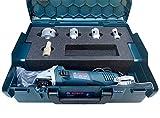 Werkmax - Broca de diamante para azulejos, gres porcelanas, M14, calidad profesional, amoladora angular Bosch GWS en caja L-Boxx (juego 2)