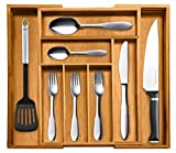 Bellemain 100% Bamboo Expandable, Utensil - Cutlery and Utility Drawer...