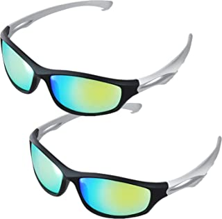 iPower GLGLSSGREENX2 2 Pack Indoor Hydroponics LED Grow Room Light Glasses Goggles Anti UV Reflection Visual Optical Prote...
