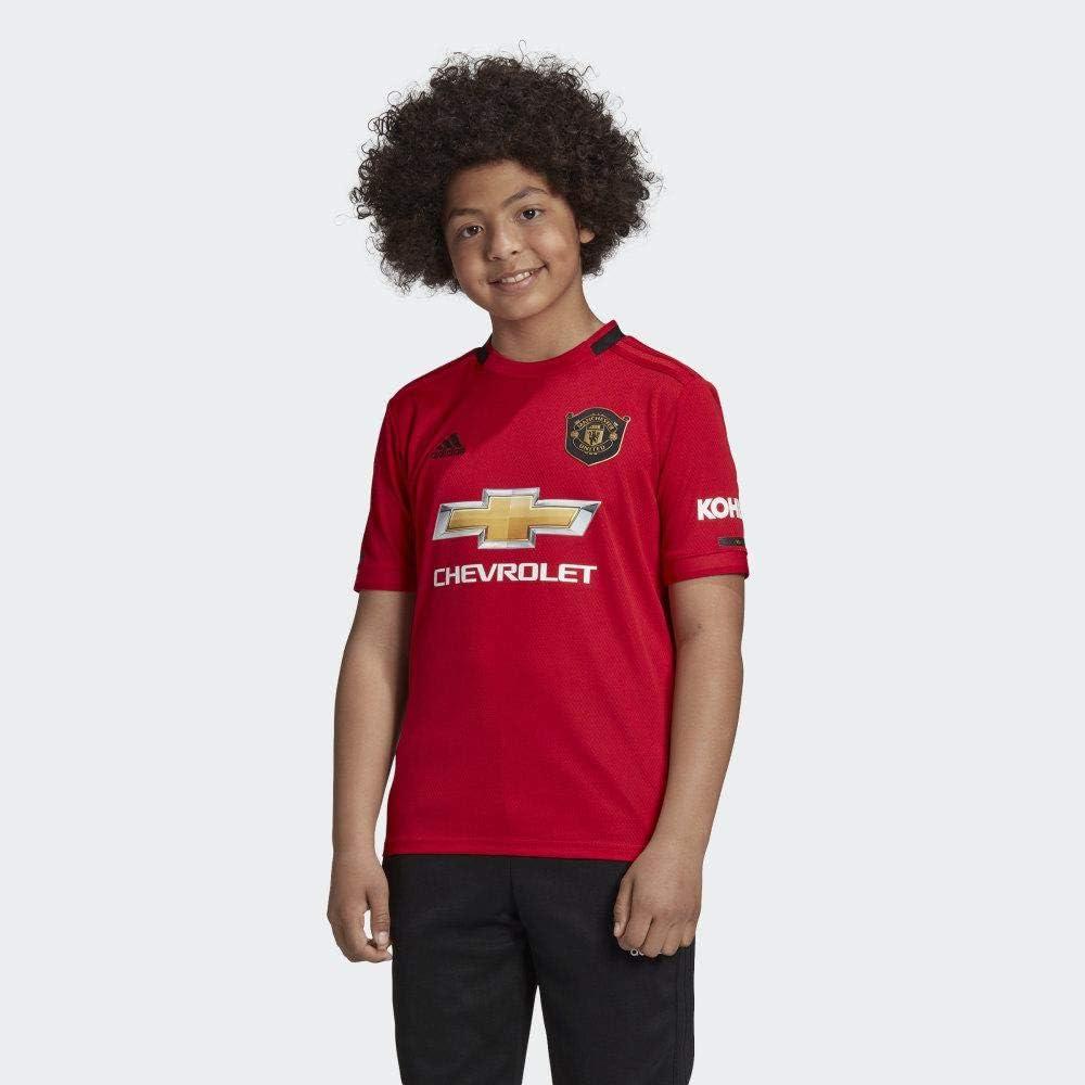 Amazon.com: adidas Man Utd Home Kids Jersey 2019-2020 : Clothing ...
