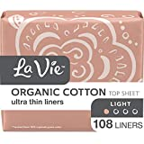 Top Choice for Breathable: La Vie Organic Cotton Top Sheet Panty Liner