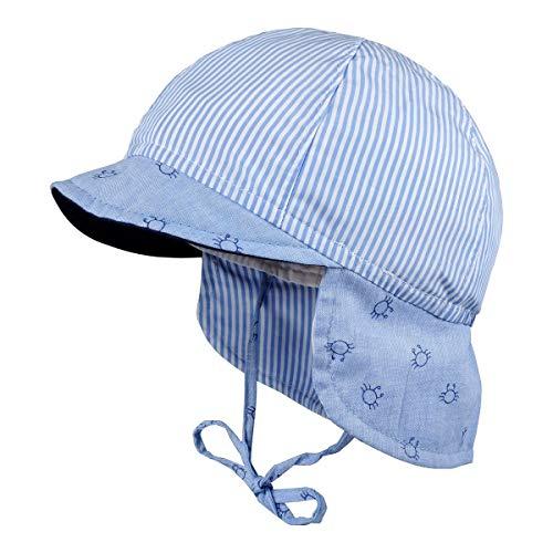 maximo Schirmmütze mit Nackenschutz Krabben