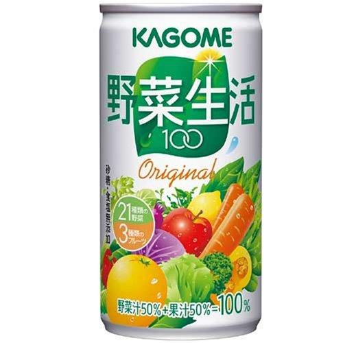 野菜生活100 オリジナル 190g×30本 缶