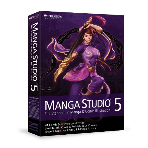 Manga Studio 5 Mac/Win engl.