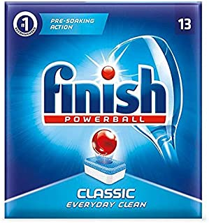 Finish Classic Powerball Dishwasher Tablets - 13 Tablets