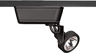WAC Lighting HHT-160-BK H Series Low Voltage Track Head, 50W