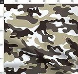 Tarnfarben, Tarnfarbe, Städtisch, Armee, Militär Stoffe -