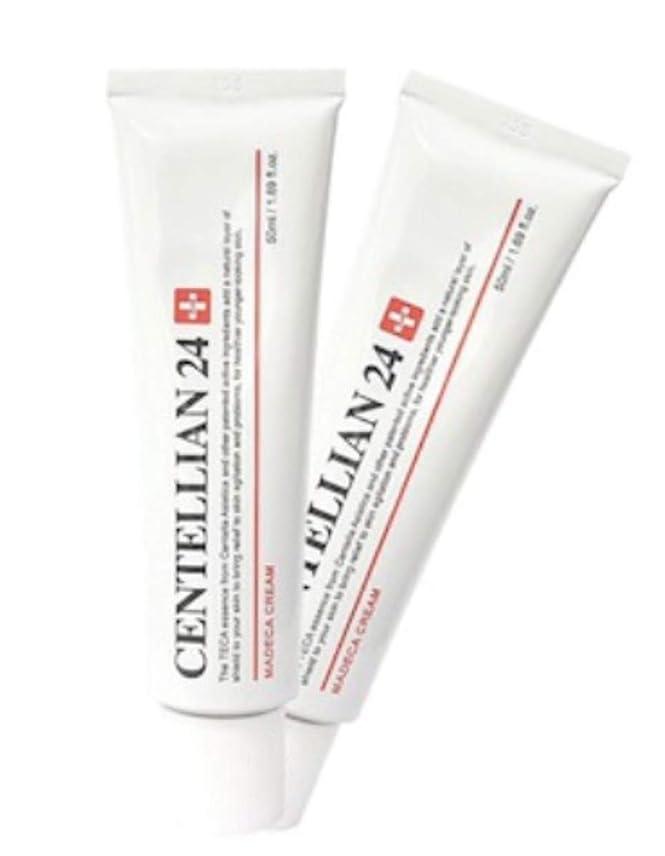 マサッチョ同封するきゅうりセンテルリアン24マデカクリム50ml x 2本セット肌の保湿損傷した肌のケア、Centellian24 Madeca Cream 50ml x 2ea Set Skin Moisturizing Damaged Skin Care [並行輸入品]