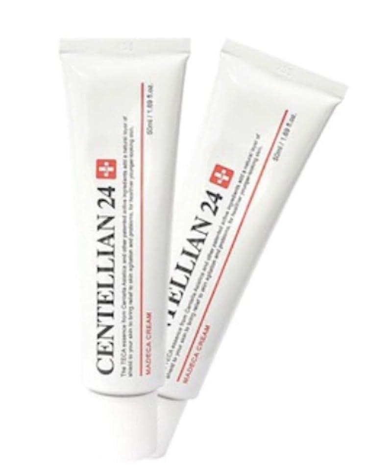 傷つきやすい配置勘違いするセンテルリアン24マデカクリム50ml x 2本セット肌の保湿損傷した肌のケア、Centellian24 Madeca Cream 50ml x 2ea Set Skin Moisturizing Damaged Skin Care [並行輸入品]