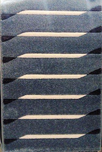 ACVILA Alfombra PIE DE Cama 80x150 cm Azul Modelo Soho 5586