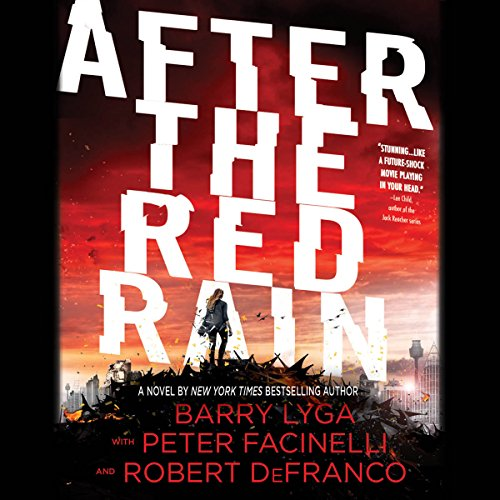 After the Red Rain audiobook cover art