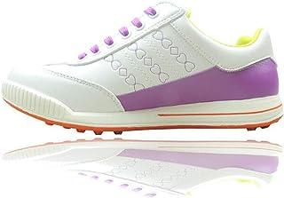 PUMA Brea Fusion Sport Damen Low Boot Golfschuhe Grau Violett Weiss Schuhe