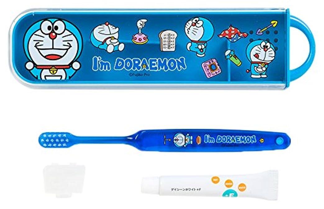 発明する不測の事態はいドラえもん スライドケース入り歯ブラシセット(I'm DORAEMON)