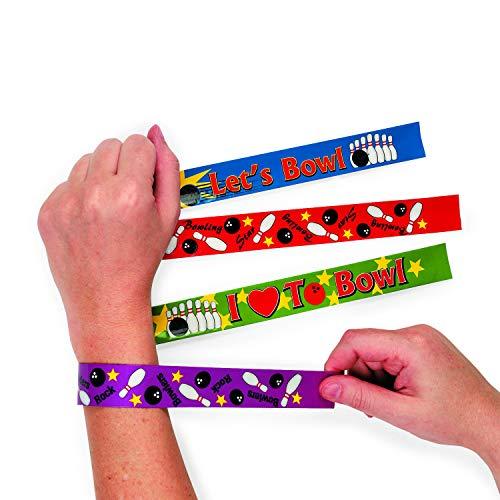 Fun Express 12 Bowling Slap Bracelets