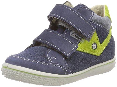 RICOSTA Jungen KIMO Hohe Sneaker, Blau (Reef/Lime 150), 20 EU