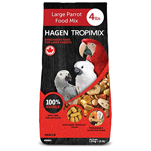 Tropimix Premium Enrichment Food for Large Parrots by Hagen,