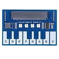 ミニピアノモジュール、静電容量式タッチコントローラーピアノ拡張ボード、TTP229 I2Cインターフェース、Micro:Bit用