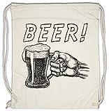 Urban Backwoods Beer! Bolsa de Cuerdas con Cordón Gimnasio